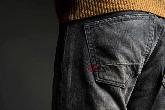 kenmerken van de denham spijkerbroek